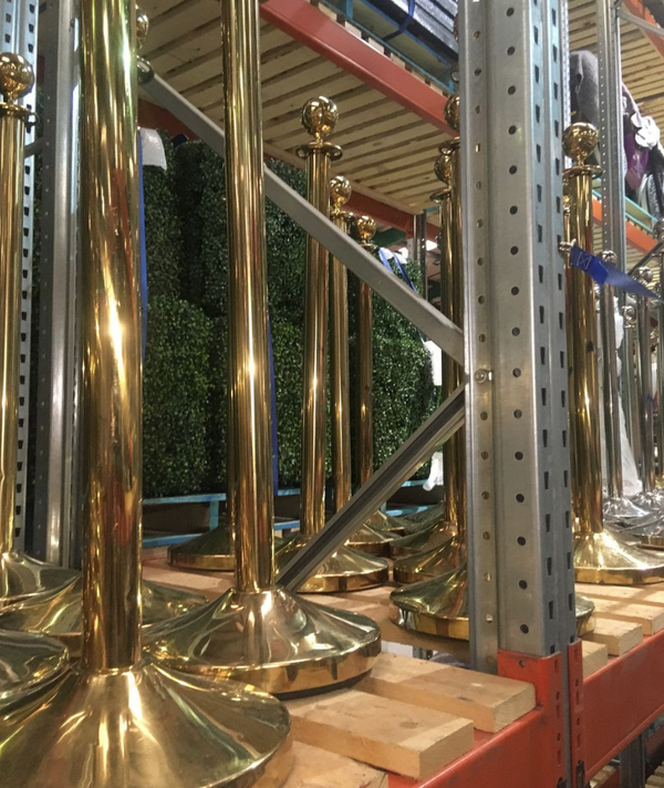 Brass stanchions for sale