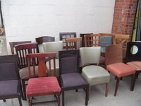 Mixed chairs for sale