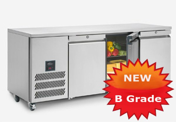 B Grade prep fridges for sale