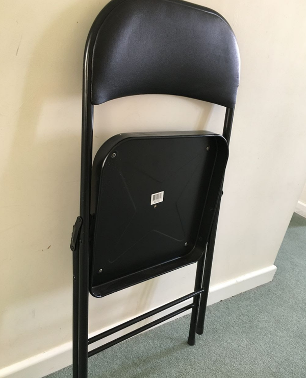 Secondhand folding chairs