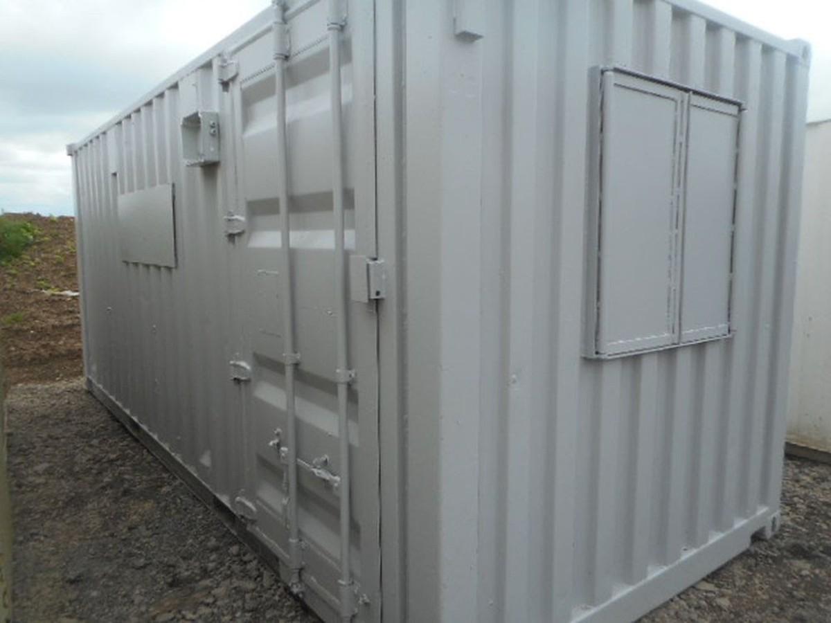 20' x 8' Anti Vandal Lined Store Conversion 2x Doors - Darlington, Co Durham