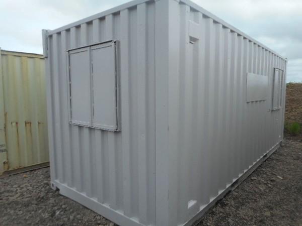 Secondhand storage building