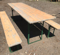 outdoor benches and tables for sale
