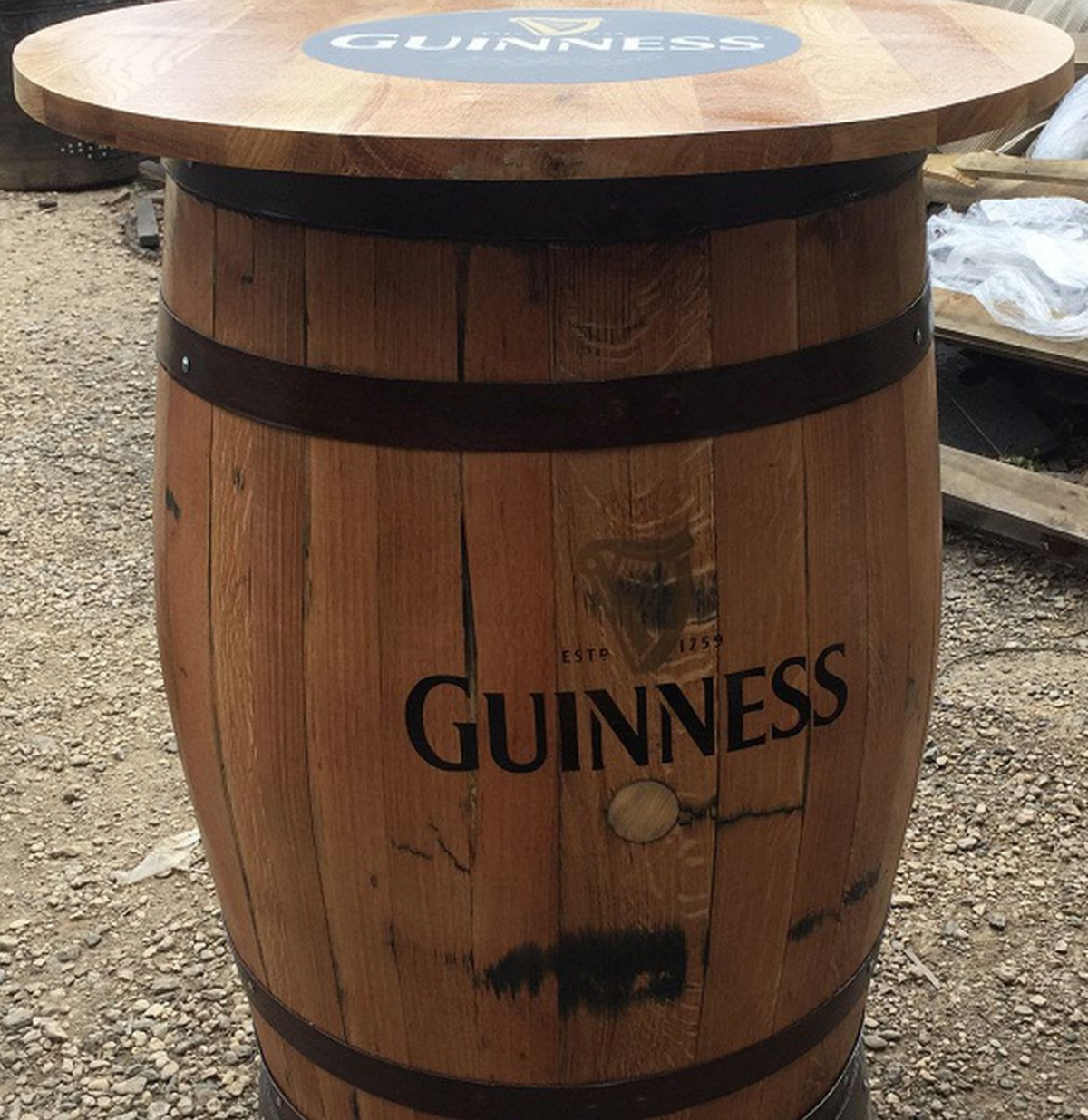Barrel Table And Chairs For Sale: Secondhand Pub Equipment