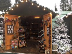 Christmas huts for sale