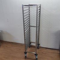 New B Grade Tournus Stainless Steel Gastro Trolley
