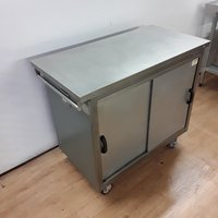 Used Moffat  Stainless Steel Heated Hot Cupboard