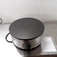 New B Grade Crepe Maker HCM-400 Stainless Steel Table Top Single Crepe Pancake Griddle