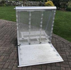 Aluminum Pit barriers for sale