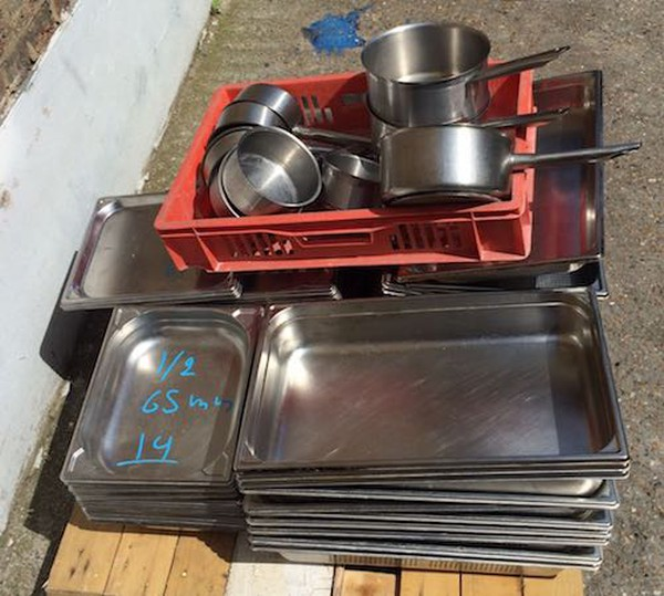 Job Lot Heavy Duty Gastro and Pans