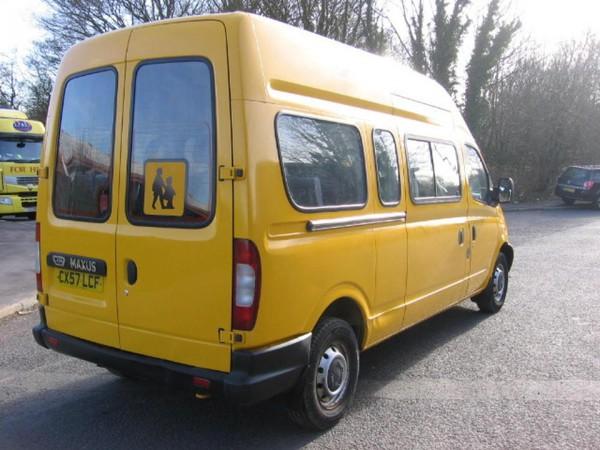 Secondhand minibus