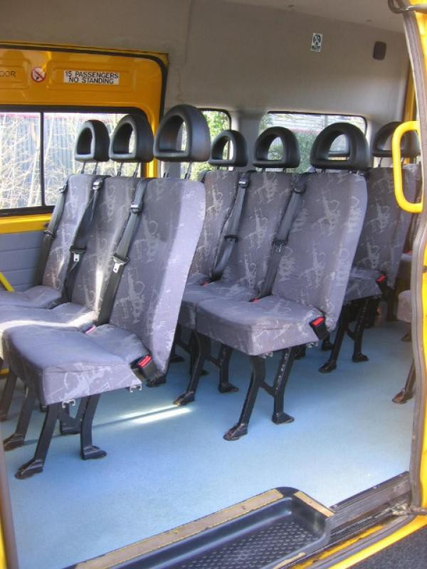Secondhand minibus for sale