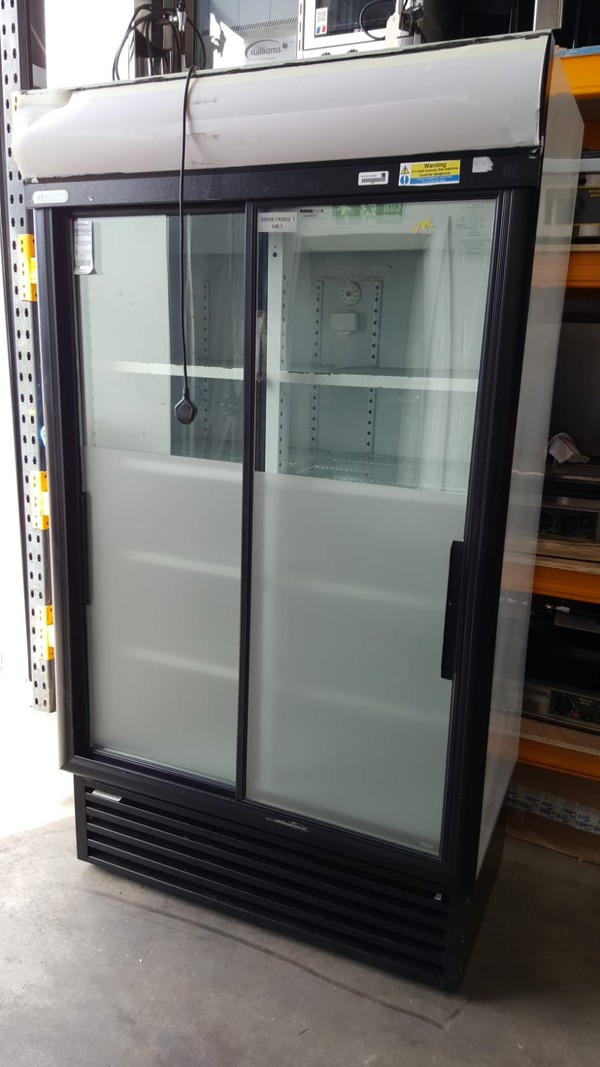 Double Door Drinks Fridge