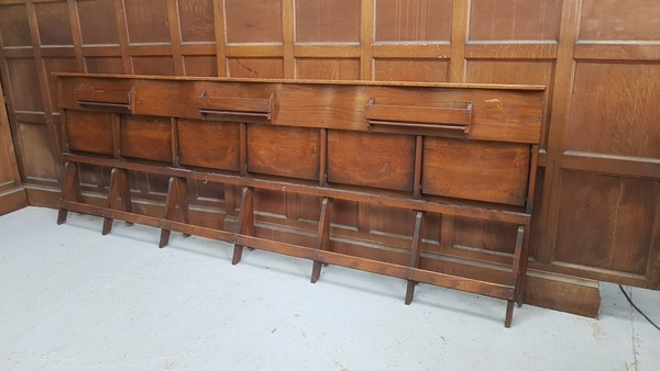 Fold flat oak benches for sale