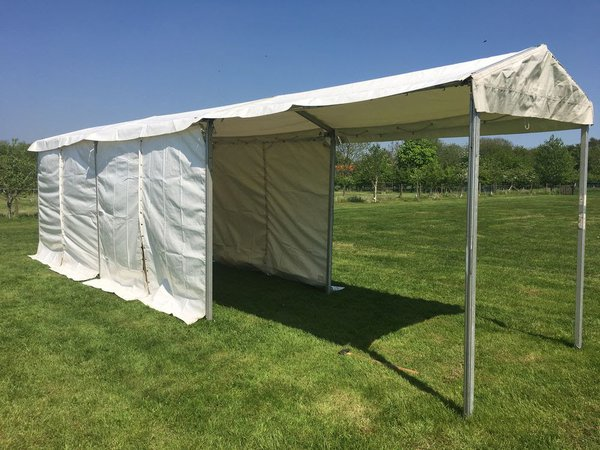6m framed marquee / walkway / tunnel