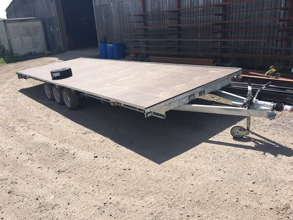 new and used flat bed trailers for sale
