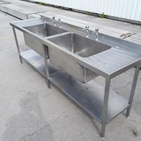 Secondhand double sink