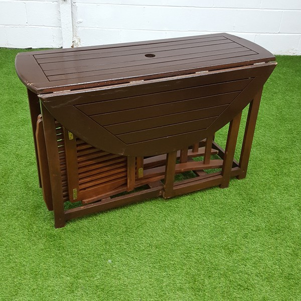 Folding table set for sale
