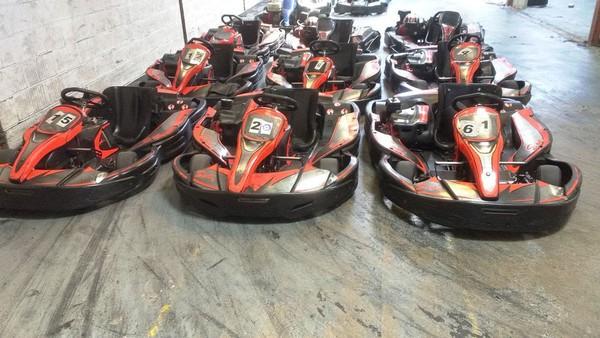 Fleet of karts for sale
