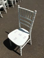 White Chiavari chairs for sale