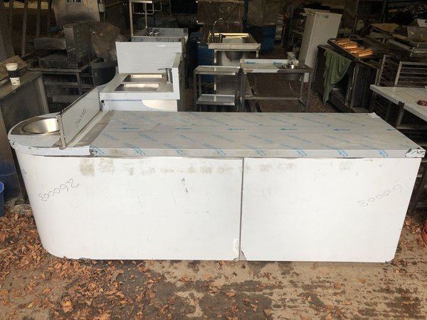 Brand New Stainless Steel Counter