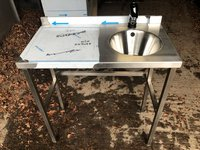 Brand New Freestanding Hand Wash Unit