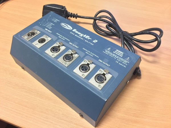 DMX Booster or splitter for sale