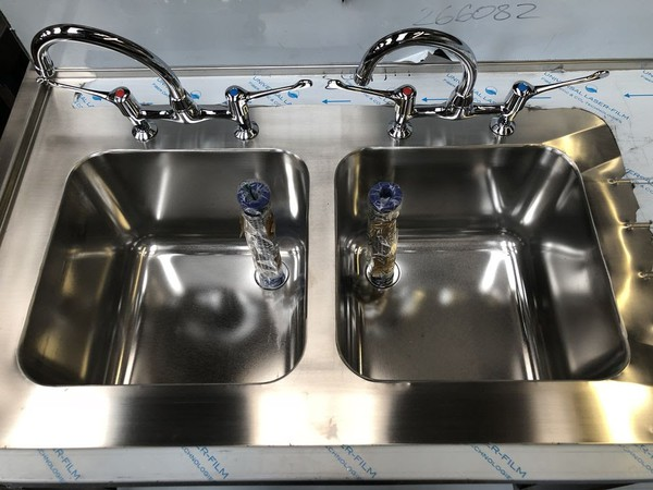 New double sink for sale