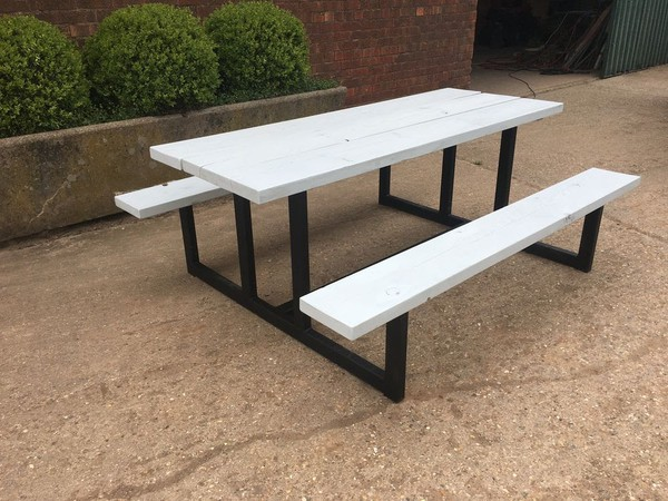 Bar picnic benches for sale