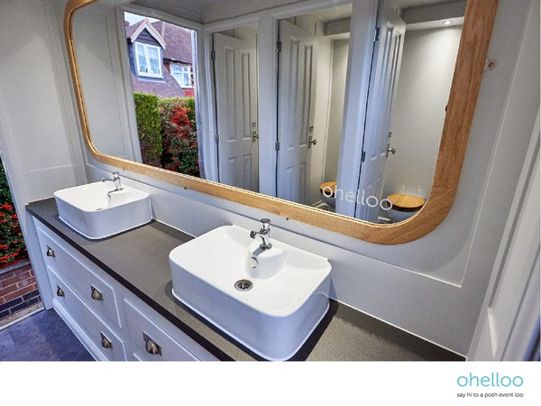 Luxury toilet hire business for sale