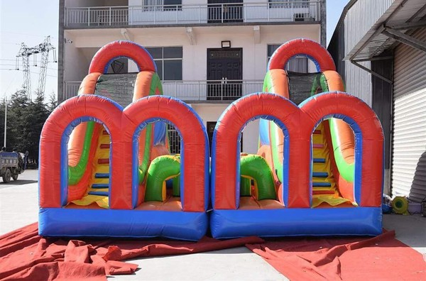 New bouncy slide