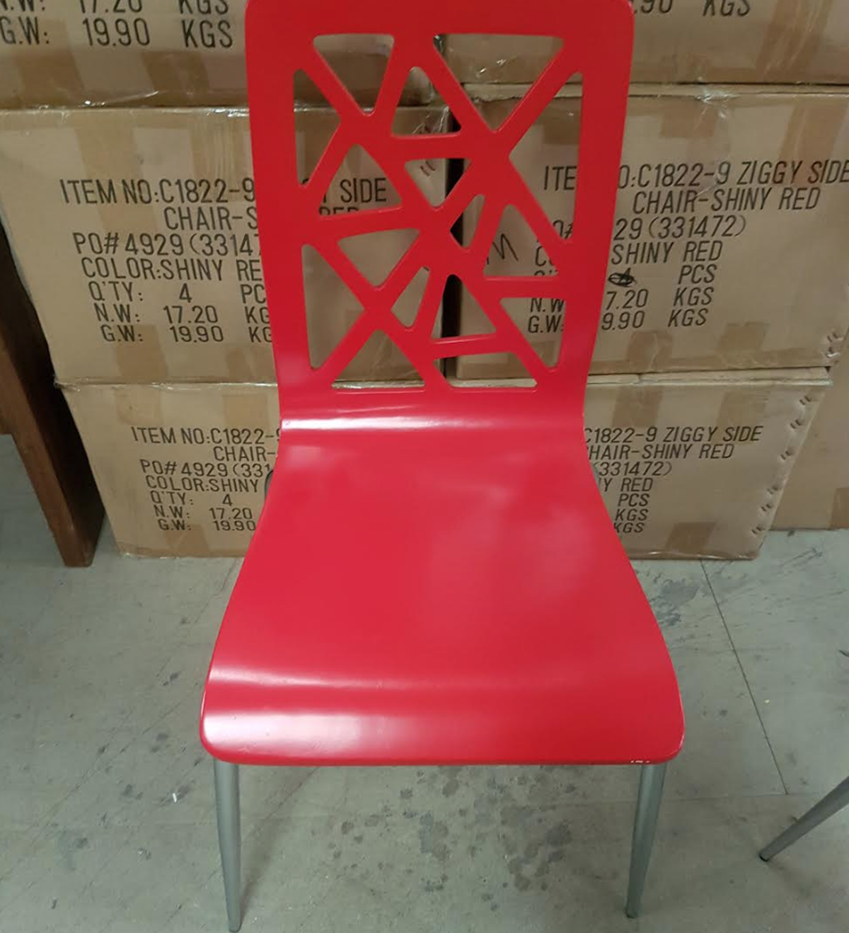 Superb 35X New Red Ziggy Chairs Derby Derbyshire Interior Design Ideas Clesiryabchikinfo