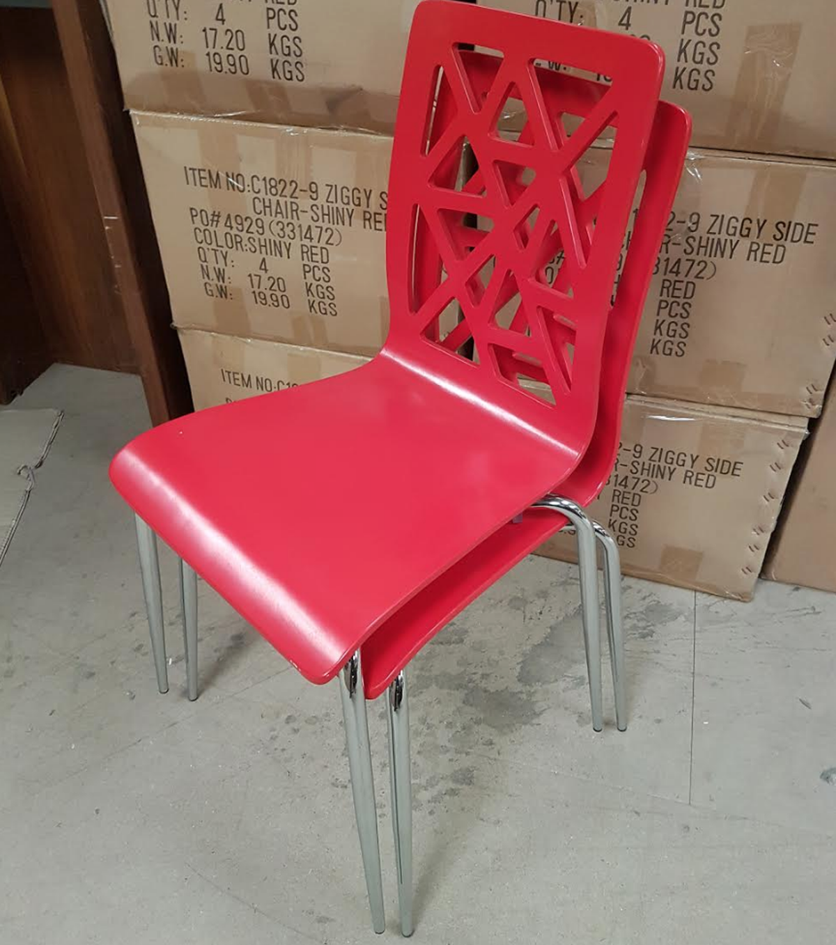 Pleasing 35X New Red Ziggy Chairs Derby Derbyshire Interior Design Ideas Clesiryabchikinfo