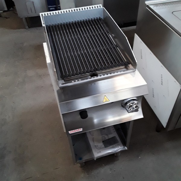 New B Grade Hobart GPLA477G Stainless Steel Freestanding Char Grill (6660)