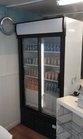 Tefcold 725 drinks display fridge