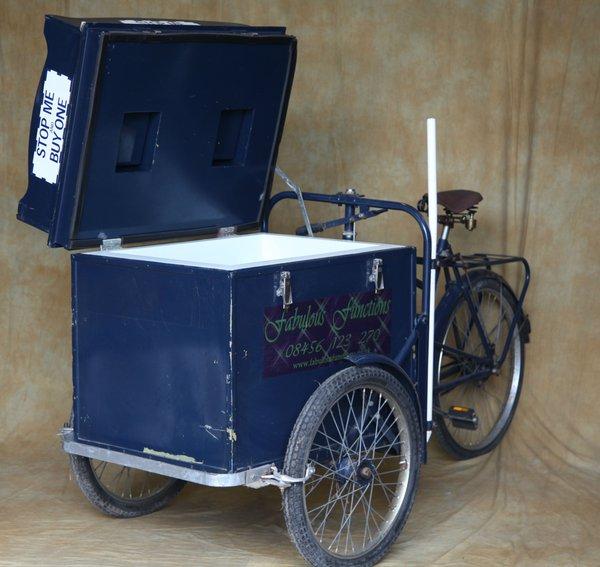 Vintage Ice Cream Trike