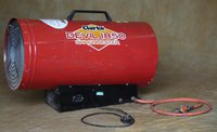 Clarke Devil 1850 Propane Fired Space Heater