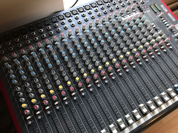 Secondhand mixing desk