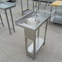 Stainless steel hand sink