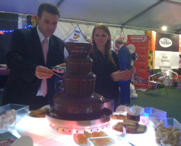 Commercial Chocolate fountain for sale