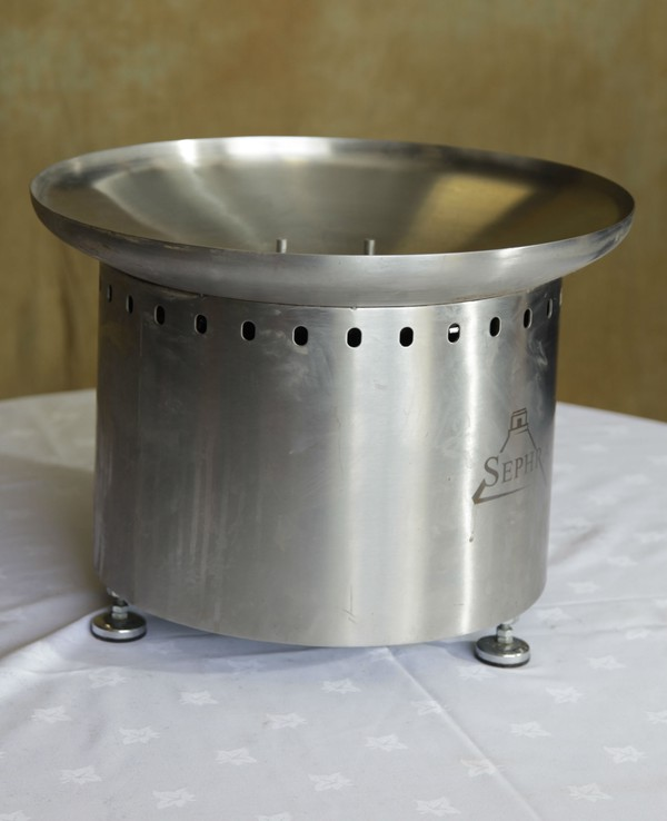 Stainless steel chocolate fountain base