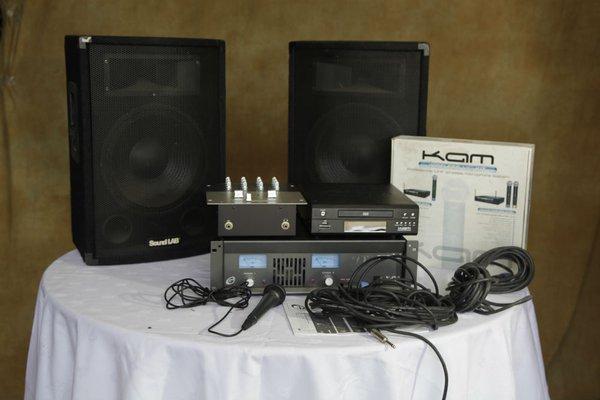 400w PA System