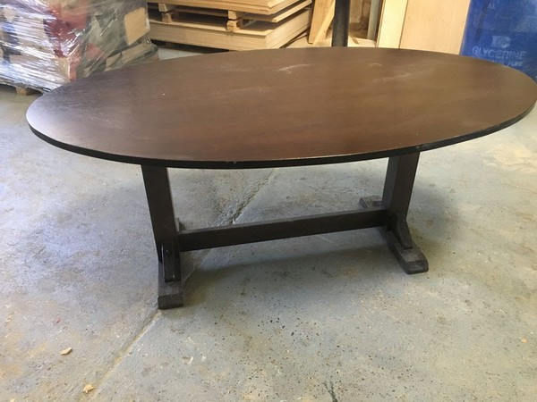 Secondhand oval table for sale