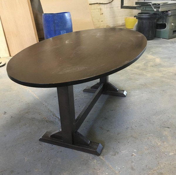 Used oval table