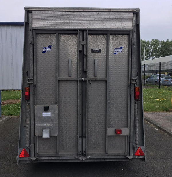 Secondhand trailer BV105