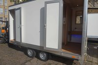 2 + 1 toilet trailer for sale