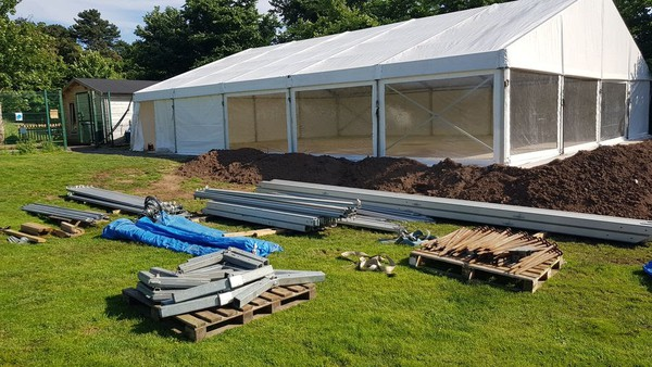 12m marquee for sale