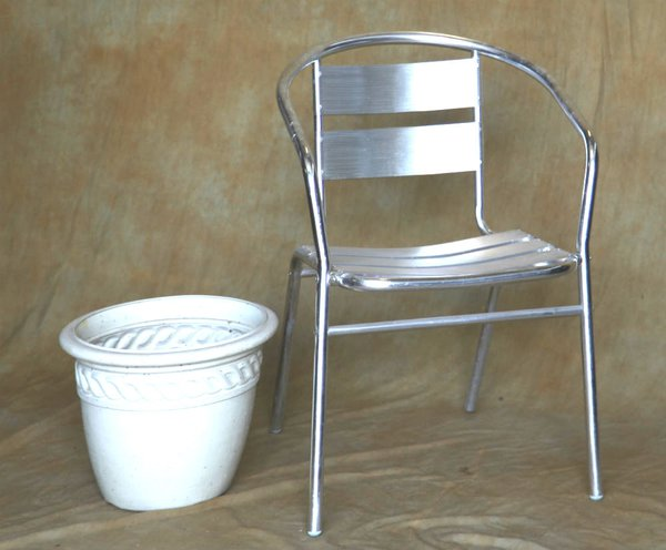 Aluminium Bistro Chairs for sale