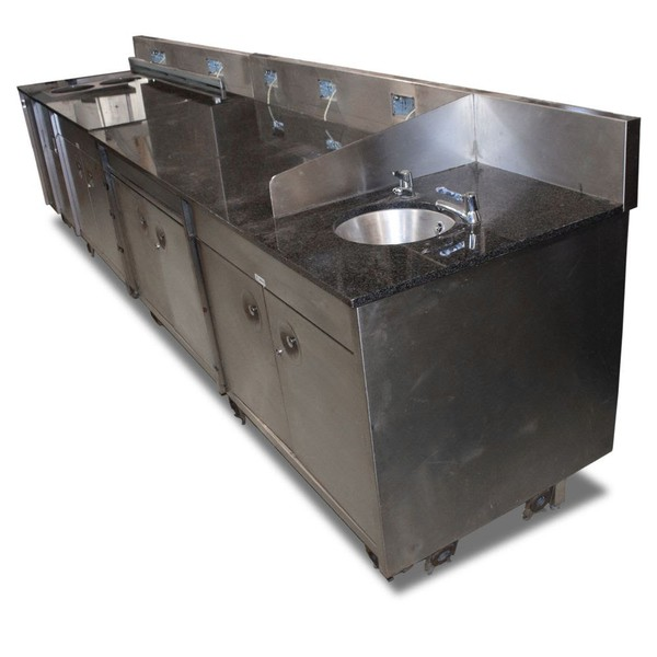 Granitre worktop unit