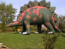 Dinosaur Inflatable prop.